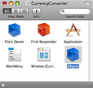 !CurrencyConverter project window
