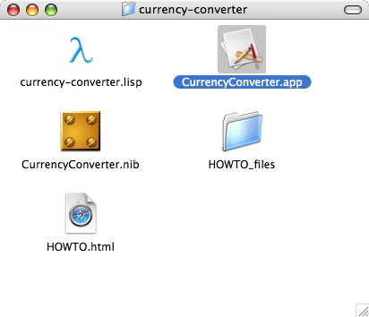 The !CurrencyConverter application
