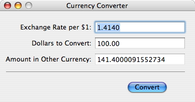 !Currency Converter UI